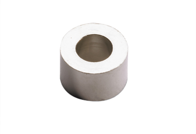 Spacer sleeve for glass doors, washer
