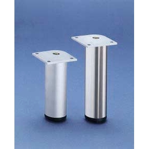 European Style Round 60mm Cabinet Legs Chrome   Thermwood ...